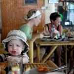 Frukost på svenska caféet i Koh Lanta