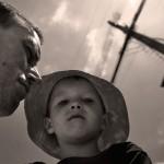 Pappa och Oskar i Saladan