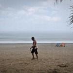 Regn på Klong Dao Beach
